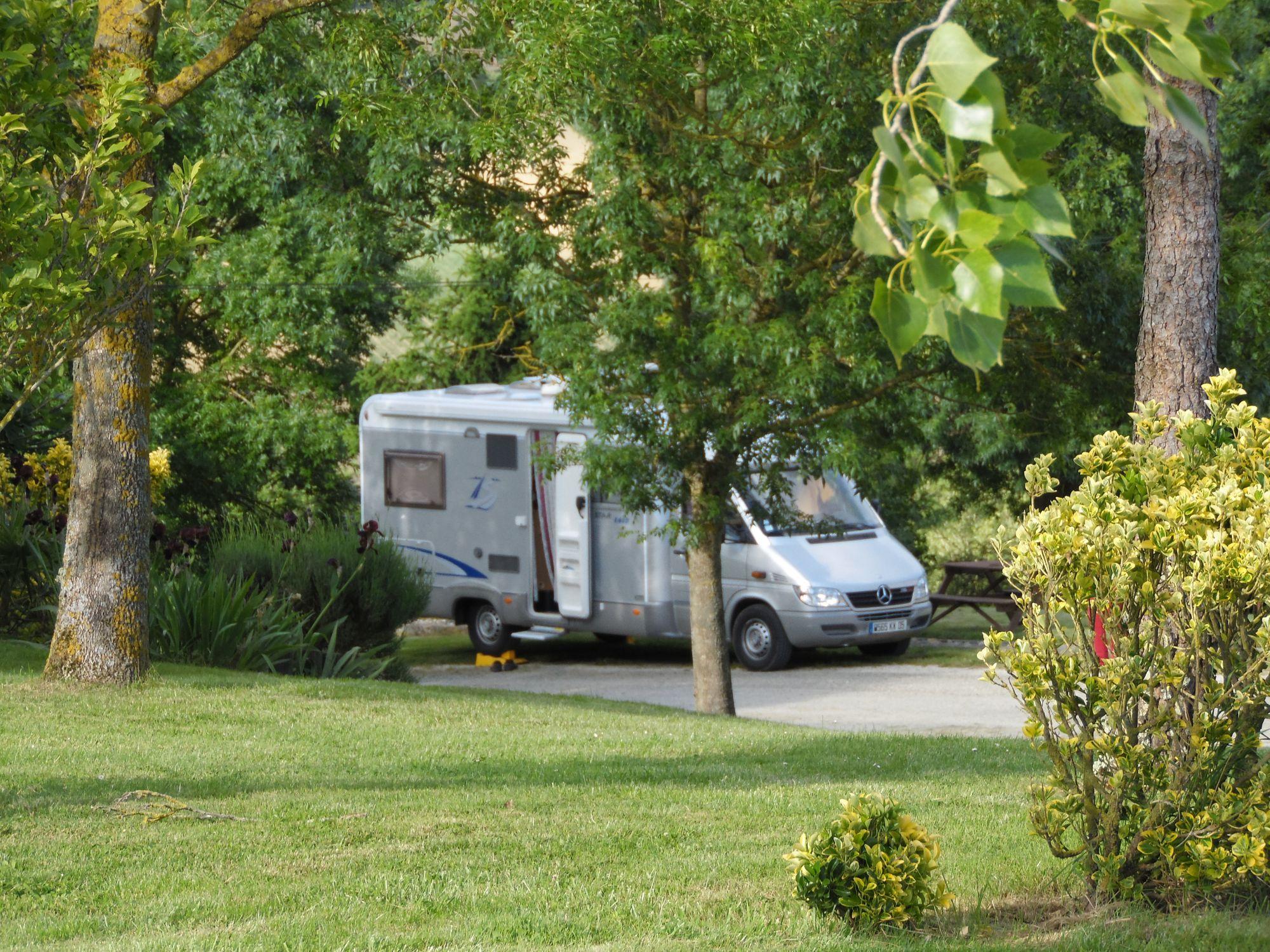 aire de stationnement pour camping car